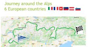 Il percorso di Alpine Pearls E-Tour