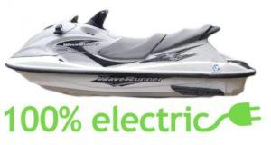 E-jetski moto d'acqua elettrica