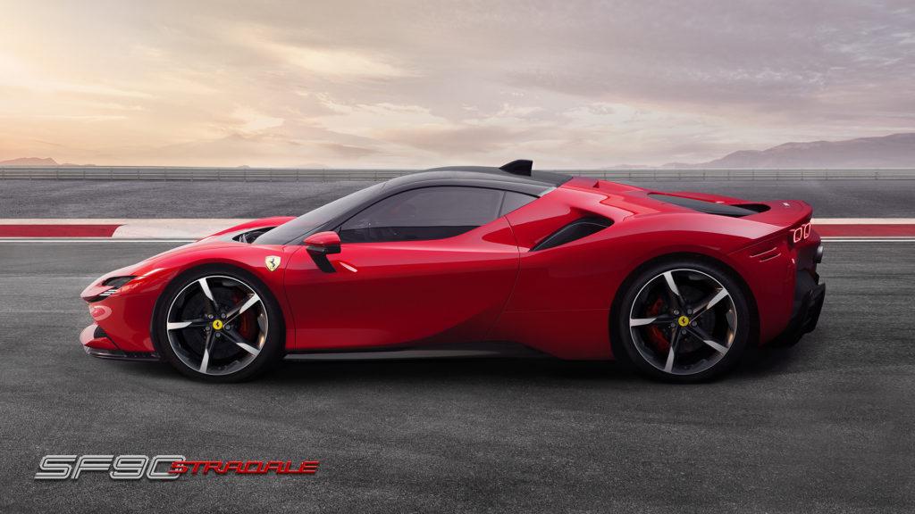 Ferrari SF 90 Stradale, profilo
