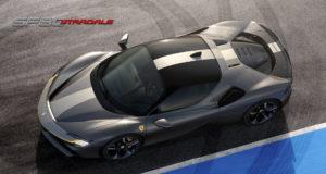 Ferrari SF 90 Stradale (foto dall'alto)