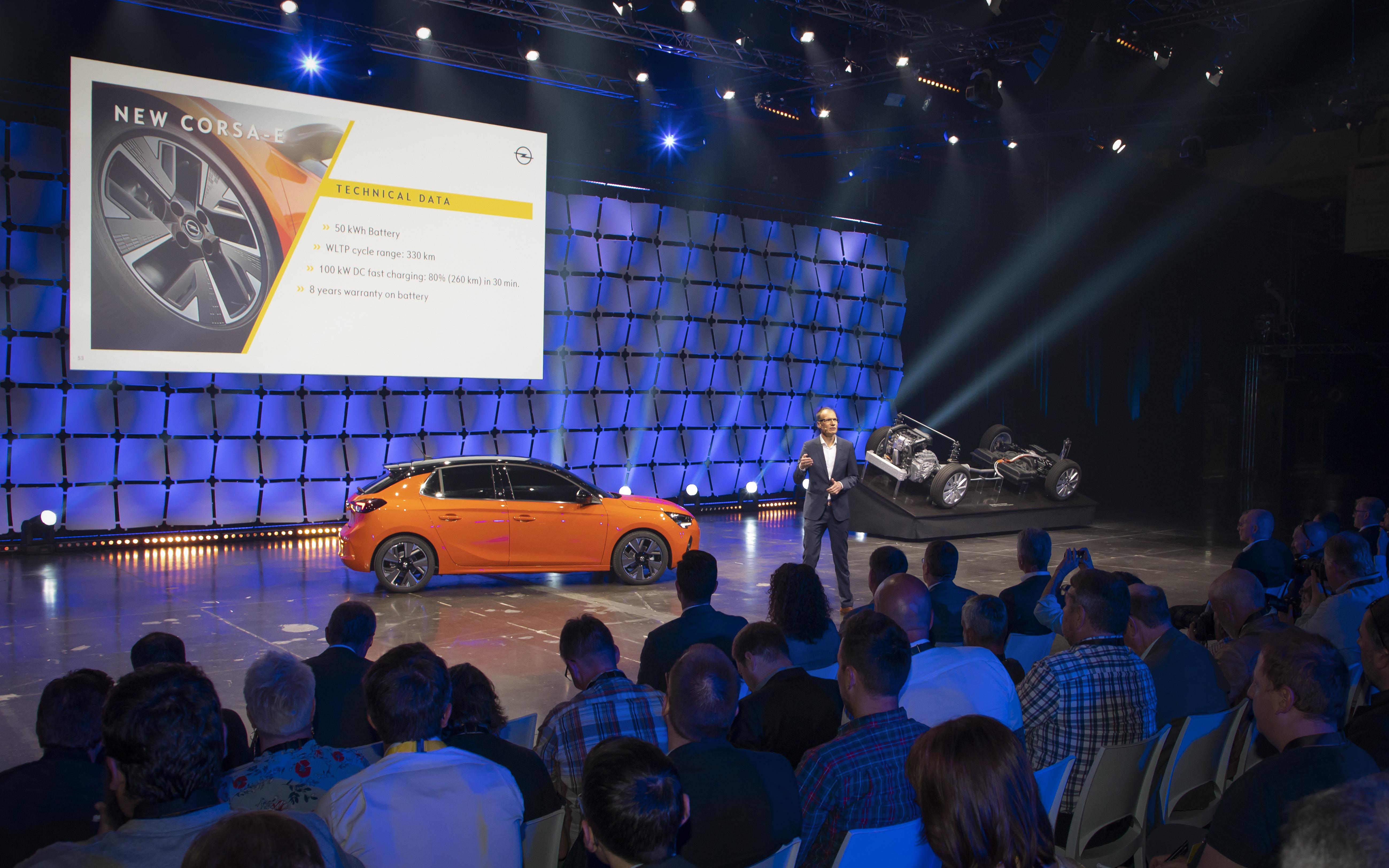 Opel Corsa-e, l'elettrica in Italia dall'estate 2020
