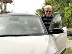 pietro s. e la sua Hyundai Kona in ricarica