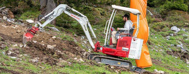 escavatore elettrico