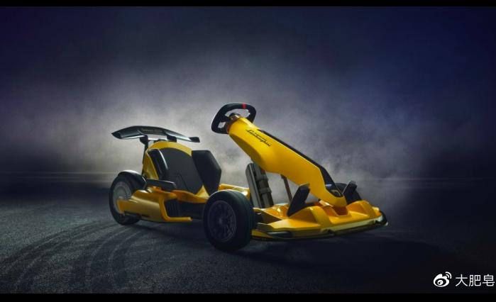 il go kart elettrico Lamborghini