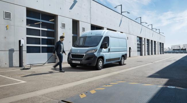 il furgone elettrico Peugeot