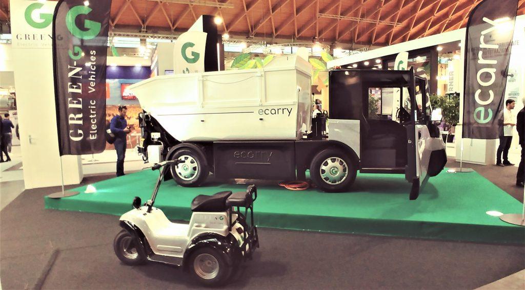 ecarry, goriziane group, green g