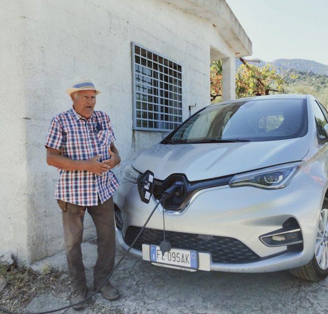 Ricarica auto eletrica