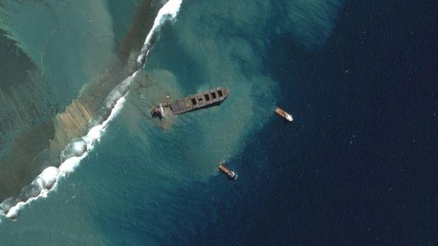 disastro petrolio