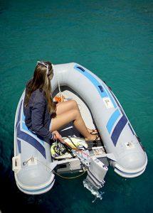 barca elettrica fuoribordo