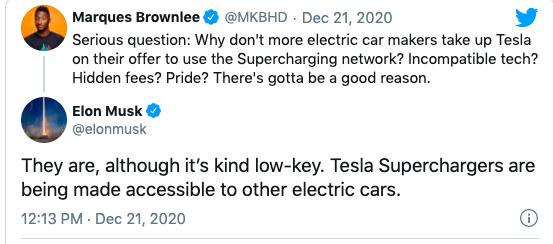 Tesla apre