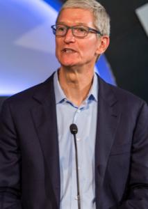 Tim Cook, Ceo di Apple.