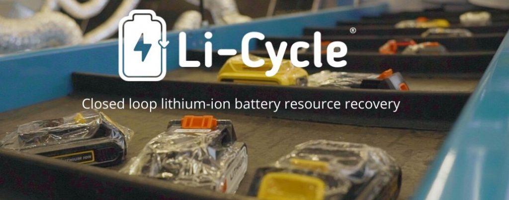 riciclo batterie