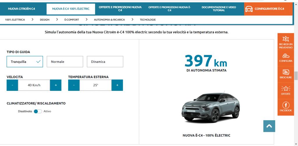 Citroën e-C4