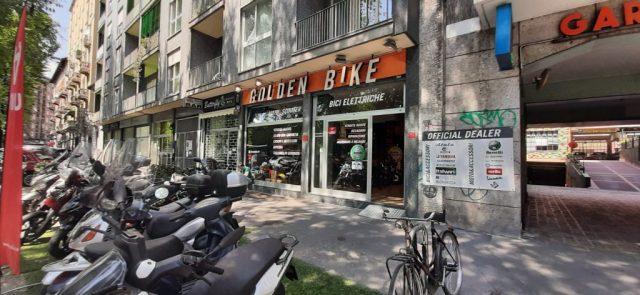 golden bike a fuoco