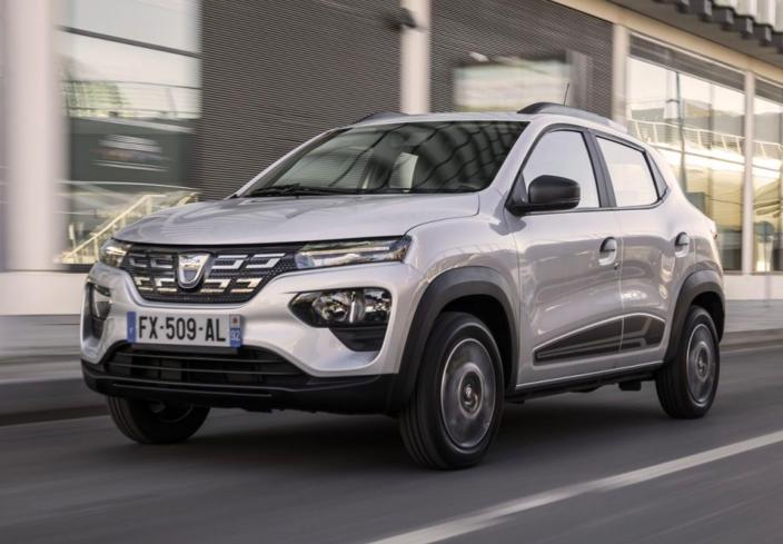 i prezzi della Dacia Spring