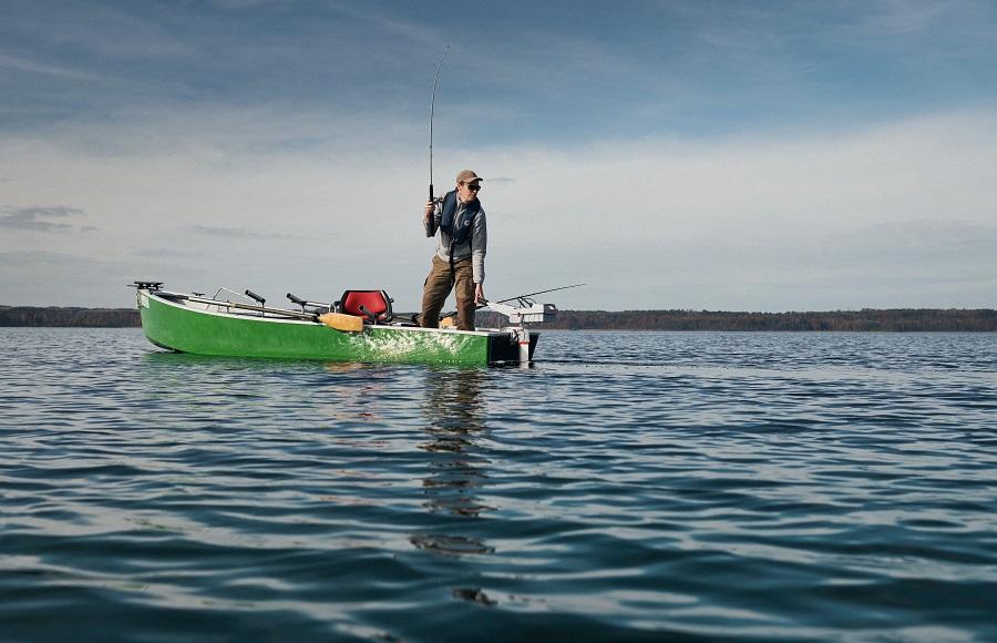 barca elettrica pesca