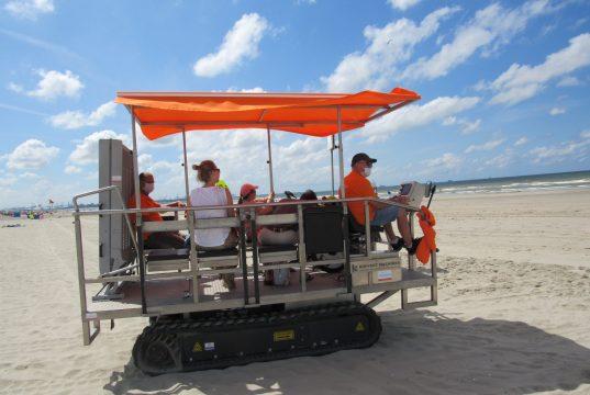 veicolo spiaggia