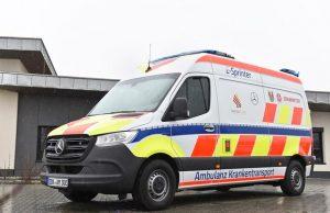ambulanza elettrica