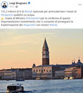 Brugnaro Venezia