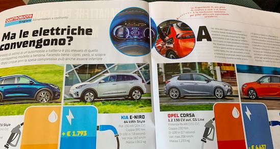 una Opel Corsa