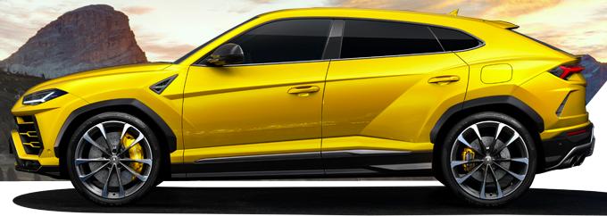 Una elettrica Lamborghini