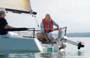 barca a vela canottaggio