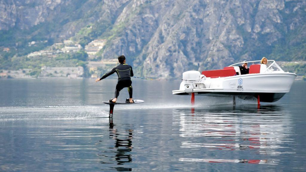 Il nostro volo con Candela Boat