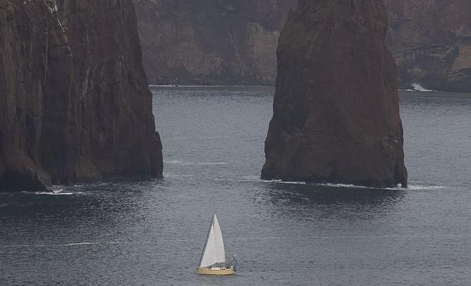 barca elettrica a vela