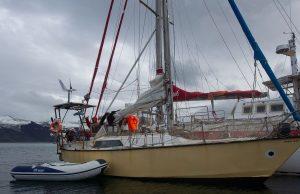 barca a vela elettrica