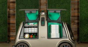 il veicolo elettrico a guida autonoma per la consegna delle pizze