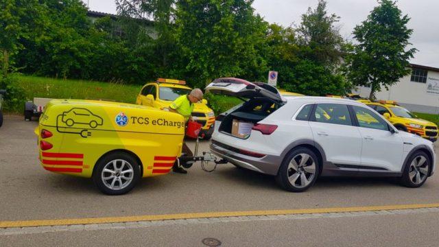 Audi Touring Clab Svizzero.