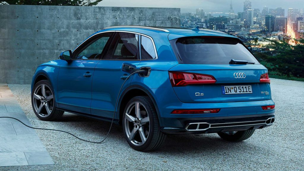 Audi ibrida plug-in
