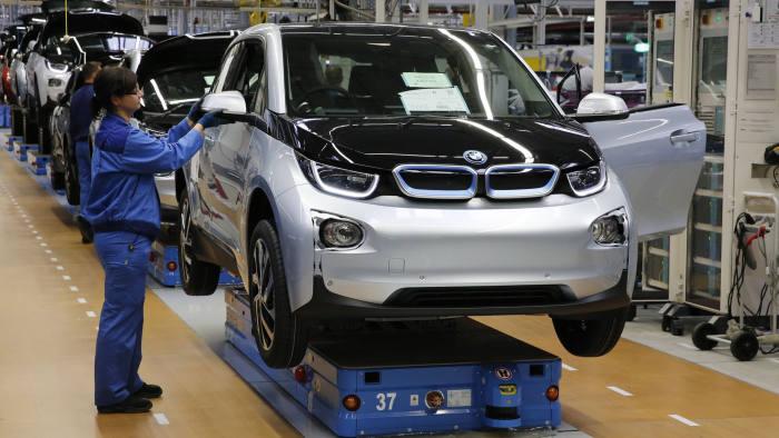 BMW i3 fabbrica