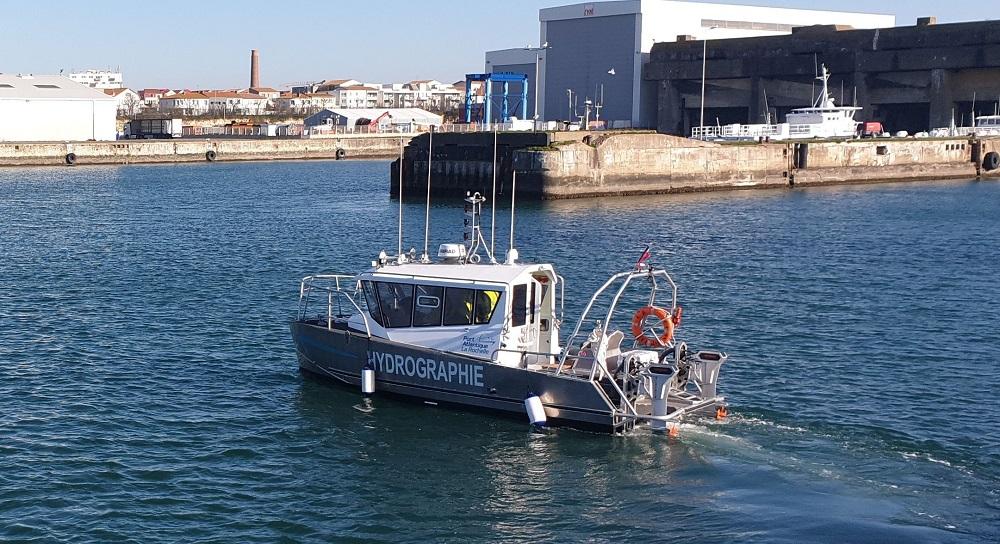 barca elettrica idrografica