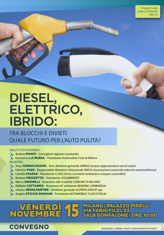 Diesel elettrico o ibrido