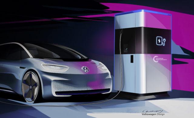 Le super-ricariche mobili Volkswagen