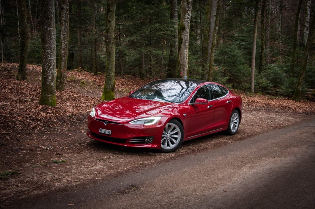 La Tesla Model S di Claudio