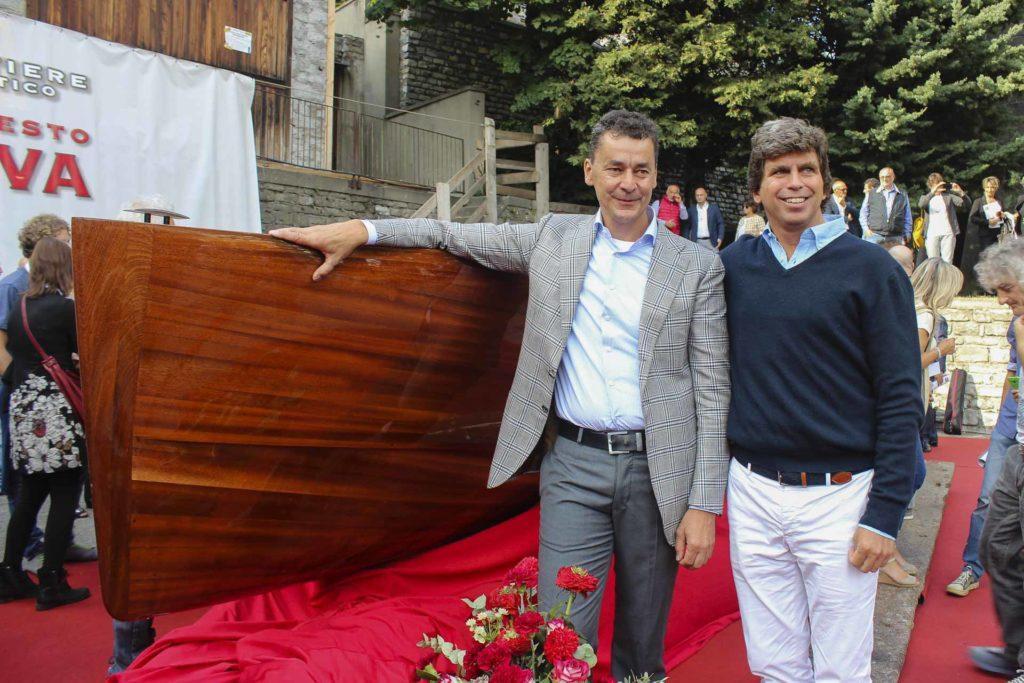 Daniele Riva e Mani Frers con Ernesto