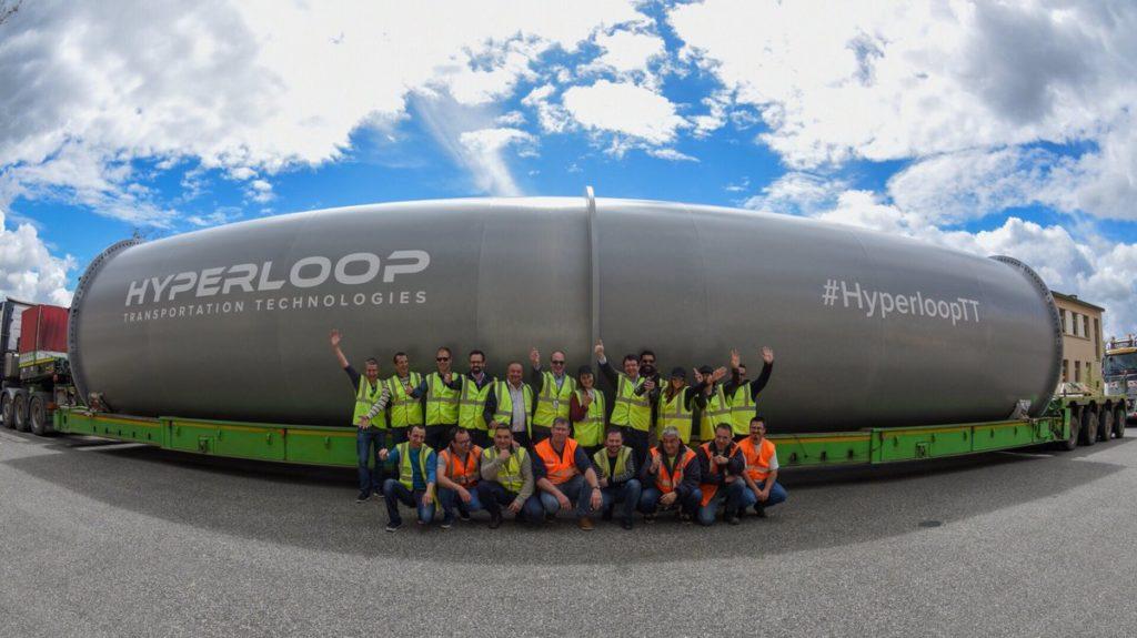 Hyperloop: il treno potrebbe arrivare in Italia con due tratte