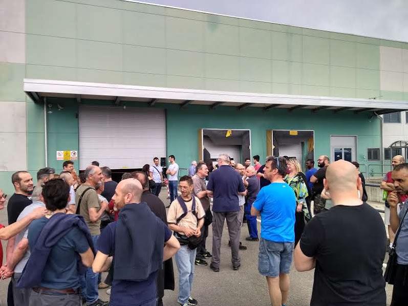 L'inaugurazione del nuovo magazzino