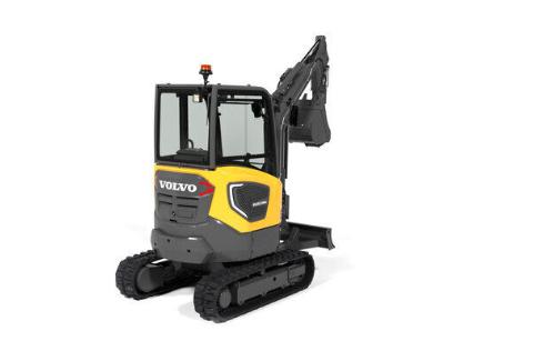Il nuovo escavatore elettrico