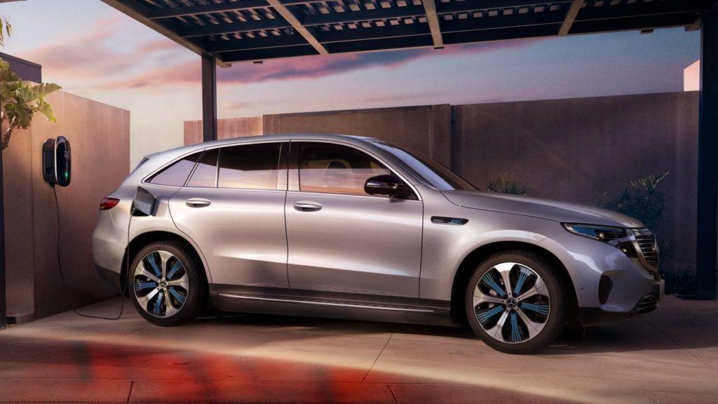 Mercedes EQC profilo