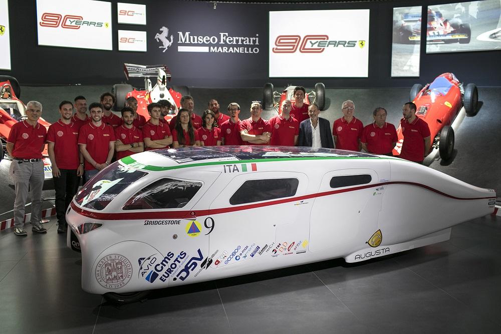 La presentazione di Onda Soalre al museo Ferrari di Maranello