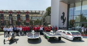 I primi modelli di auto solare