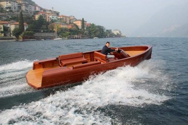 Ernesto la barca elettrica
