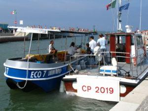 La barca elettrica