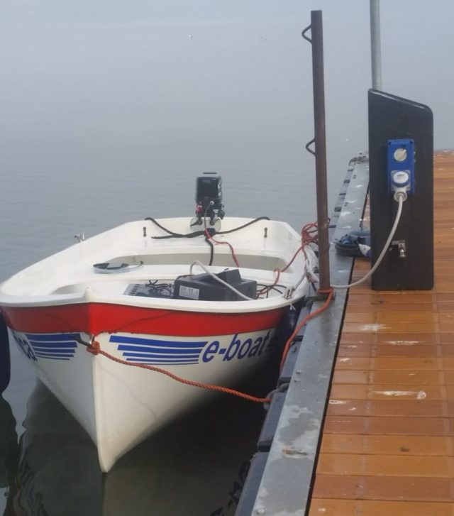 La barca per la manifestazione FAI
