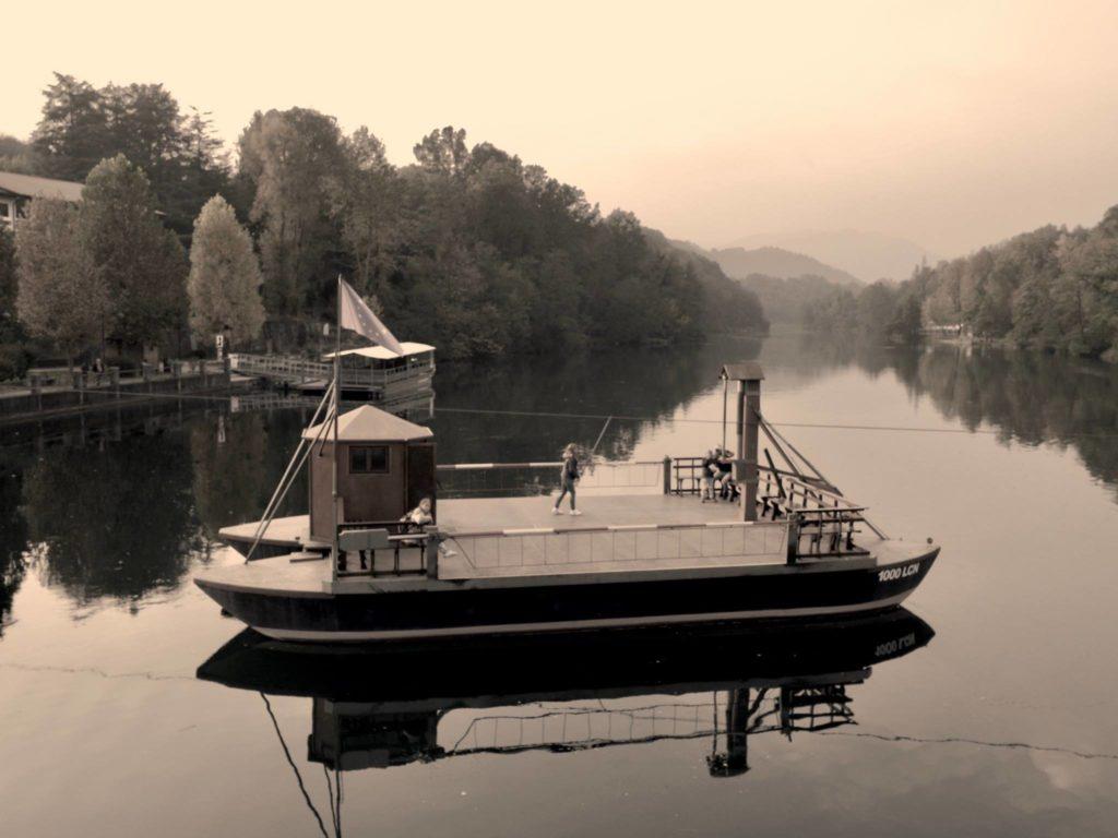 il traghetto leonardesco