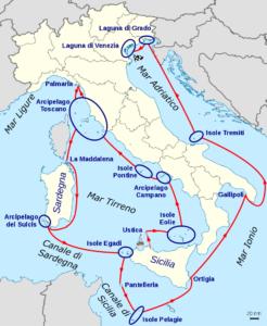 L'itinerario di Lucio