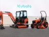 trattore e mini escavatore